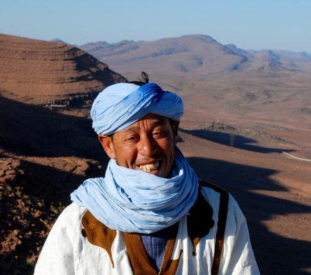 Un sahélien souriant