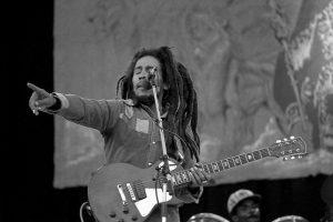 Bob Marley, activiste et musicien jamaïcain