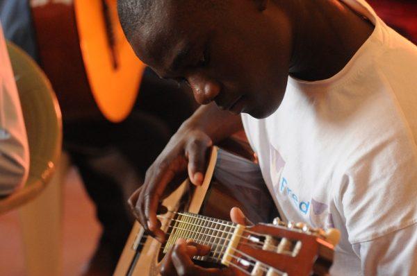 musicien en Afrique