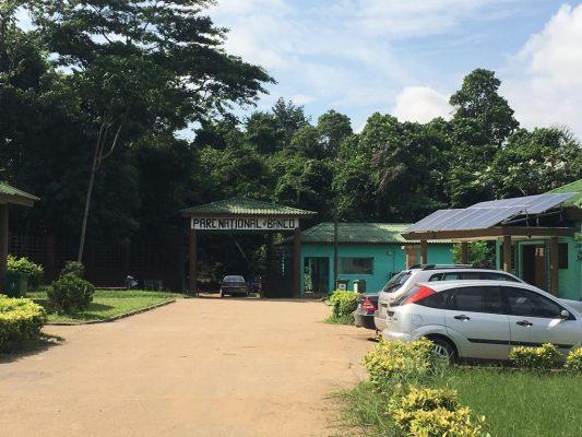 Entrée du parc national du Banco